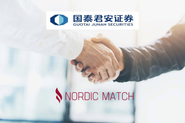 Nordic Match enters into strategic partnership with Guotai Junan Securities to market Nordic investment opportunities through Guotai Junan's Chinese investor network